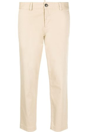 Dsquared2 Halbhohe Cropped-Hose - Nude