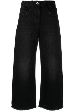 Patrizia Pepe Gekürzte Distressed-Jeans