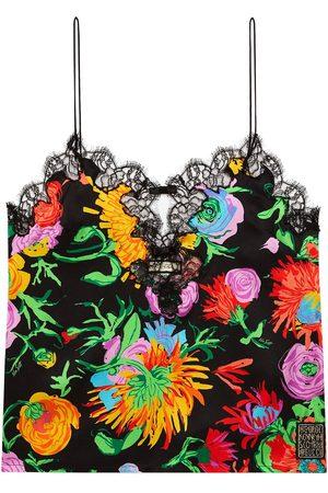 Gucci Ken Scott-print silk top