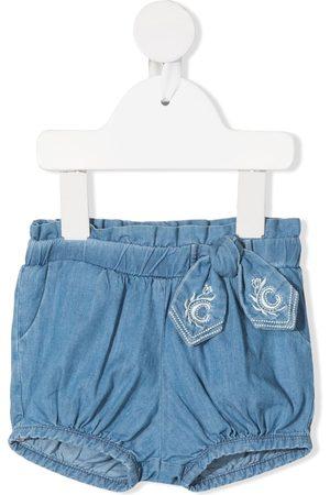 Chloé Jeans-Shorts mit Schleifendetail