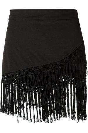 AMIR SLAMA Damen Strandmode - Fringed skirt