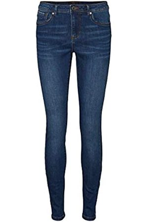 Vero Moda VERO MODA Female Slim Fit Jeans VMTANYA Normal Waist XS32Dark Blue Denim