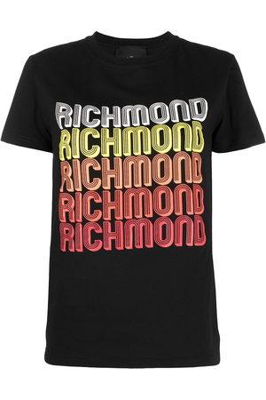 John Richmond T-Shirt mit Logo-Print