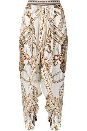 Camilla Damen Capris - Mind Your Manor silk trousers