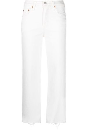 Levi's High waisted straight jeans - Nude