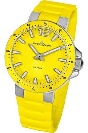 Jacques Lemans Unisex-Armbanduhr Milano Analog Silikon 1-1709E