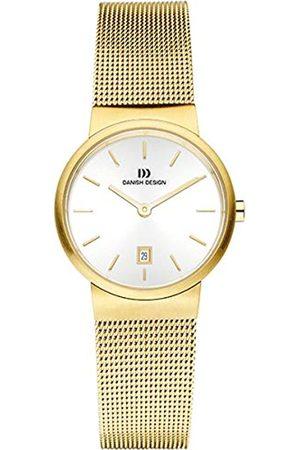 Danish Design Damen Analog Quarz Uhr mit Edelstahl beschichtet Armband 3320213