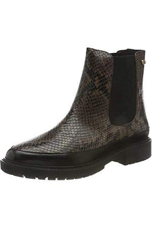 Fred de la Bretoniere Damen FRS0717 Chelsea Ankle Boot 3 cm Croco Printed Leather