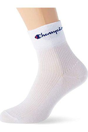 Champion Herren Rochester Chaussettes Reversibles X3 Socken, Weiss