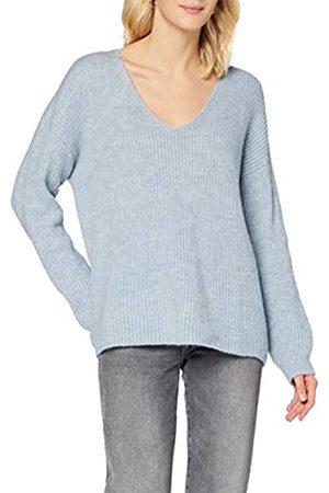 Herrlicher Damen Strickpullover - Damen Lini Structured Wool Pullover