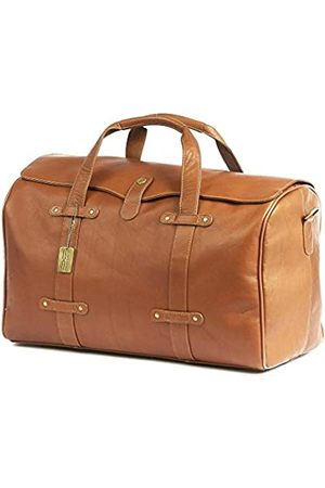 Claire Chase Claire Chase Lindy Duffel (Beige) - 308-Saddle