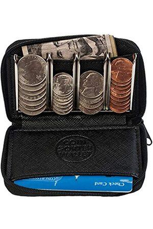 COIN SORTER WALLET Münzgeldbörse mit Münzsortierer - Schnellwechsel unterwegs - Trusty Münzbeutel für Tasche oder Geldbörse - - Einheitsgröße
