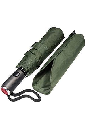 LifeTek LifeTek Winddichter Reise-Regenschirm – schnell trocknend Teflon-Bordach