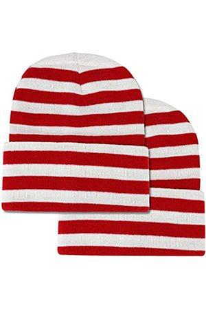 Armycrew Beanie-Mütze, gestreift