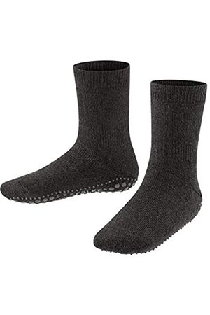 Falke Unisex-Kinder Socken, Catspads K CP-10500, (Asphalt Melange 3180)