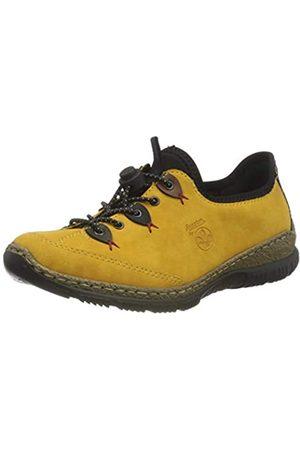 Rieker Damen N3271 Sneaker, Honig/Forest/Pazifik/Brandy/ / 68