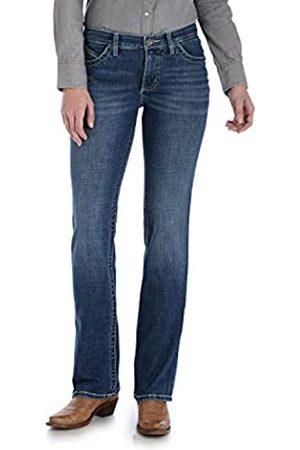 Wrangler Wrangler Damen Willow Mid Rise Boot Cut Ultimate Riding Jeans