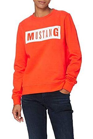 Mustang Damen Sweatshirts - Damen Bea C Logo Print Sweatshirt