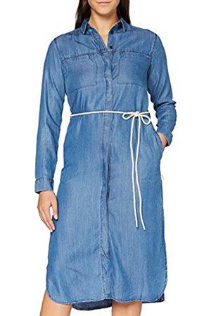 Lee Cooper Damen Freizeitkleider - Damen Long Dress Lässiges Abendkleid