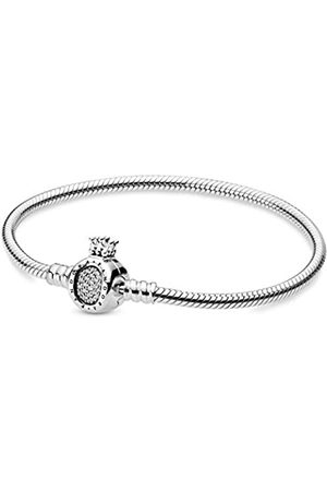PANDORA Pandora Moments Crown O & Schlangen-Gliederarmband
