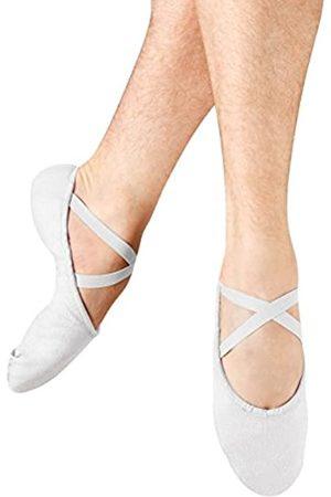 Bloch Dance Herren Pump Split Sole Canvas Ballett Slipper/Schuh