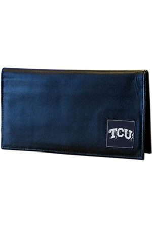 Siskiyou NCAA TCU Horned Frogs Leather Checkbook Cover