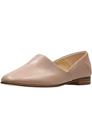 Clarks CLARKS Womens Pure Tone Loafer, Nude Leather