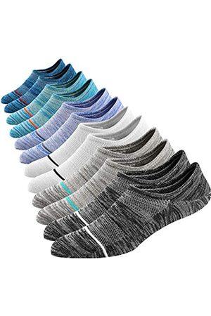 Mottee&Zconia M&Z Low Cut No Show Socks Upgraded 6 Paar Herren Casual Unsichtbare Air Fresh Baumwolle Socken Größe M