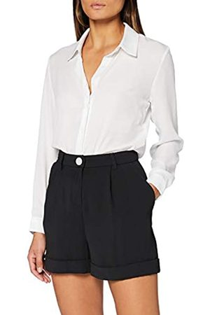 Miss Selfridge MISS SELFRIDGE Damen Black Button Shorts