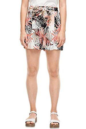 s.Oliver S.Oliver Damen Jersey-Shorts mit Bindegürtel 36