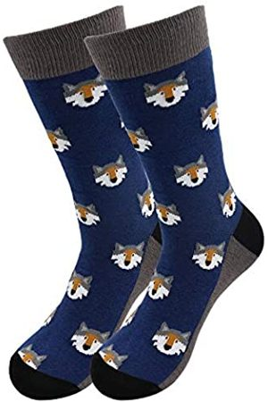 Real Sic Lässige Designer-Socken für Damen und Herren – Serie Exotic Animal – atmungsaktive und leichte Baumwolle - - Small