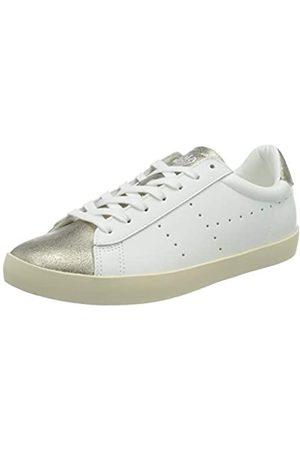Gola Damen Nova Metallic Sneaker, White/