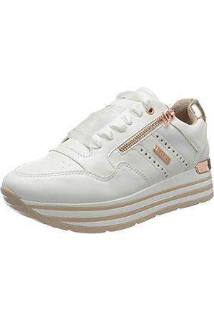 Dockers Damen 44CA207-610592 Sneaker, Weiss/Rosegold