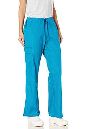 Dickies Damen Cargohosen - Damen Mid Rise Drawstring Cargo Pant Medizinische Scrubs Hosen