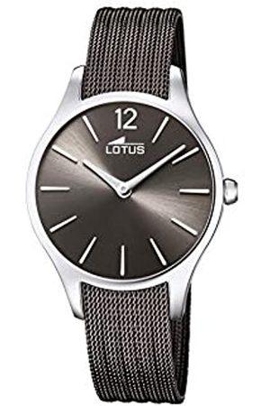 Lotus Damen Analog Quarz Uhr mit Edelstahl Armband 18749/4