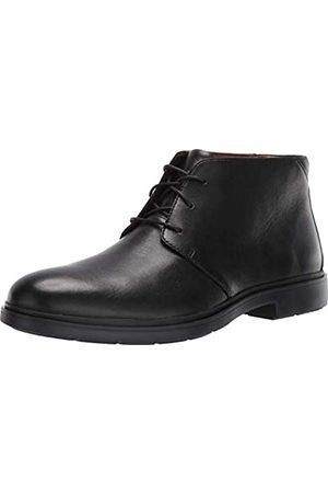 Clarks CLARKS Men's Un Taiior Mid Black Leather 10 EE US