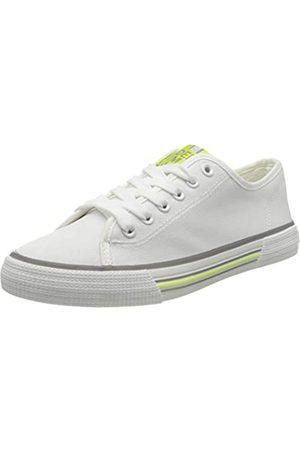 TOM TAILOR TOM TAILOR Damen 8095306 Sneaker, Weiß (White 00002)