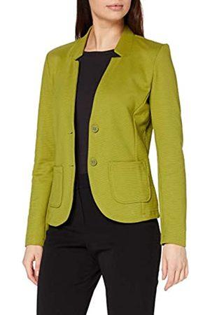 TOM TAILOR TOM TAILOR Damen Basic Jersey Blazer, Grün (19651-wood Green)