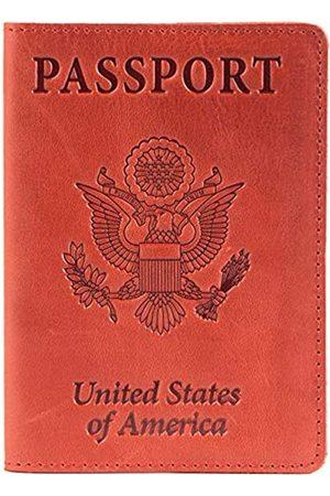 Shvigel Shvigel Leder Passport Cover – Halterung – für Damen & Herren – Passport Fall