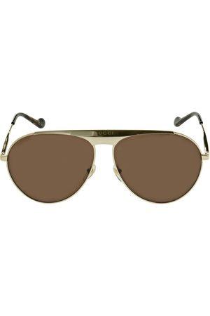 """Gucci Herren Sonnenbrillen - Metall-sonnenbrille """"gg0908s Pilot"""""""
