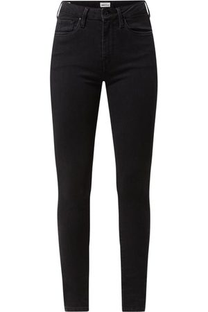 Pepe Jeans Skinny Fit High Waist Jeans mit Stretch-Anteil Modell 'Regent