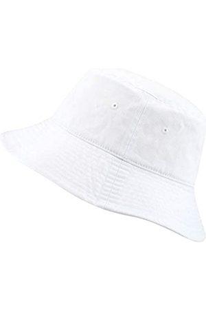 The Hat Depot Fischerhut aus 100 % Baumwolle mit langer Krempe und tiefer verstaubarer Sommer-Reise. - - L/XL