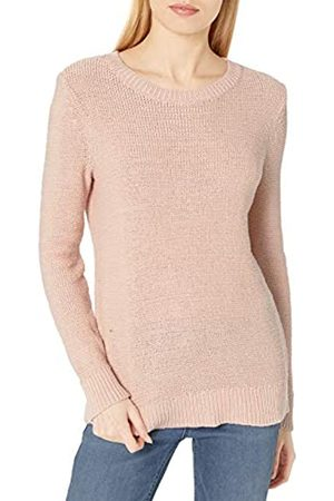 Daily Ritual Soft Cotton Tape Yarn Beachy Crewneck Sweater pullover-sweaters M