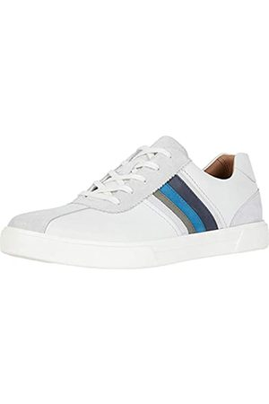 Clarks Clarks Un Costa Band White/Blue Leather/Suede Combi 9