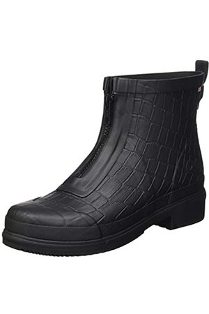 Viking Viking Damen Gyda Croco Zipper Gummistiefel, Black
