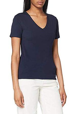 Petit Bateau Damen T-Shirt Ikonisch V-Ausschnitt Gr. 16 Jahre