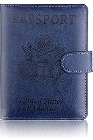 CaserBay CaserBay Reisepasshülle aus hochwertigem Kunstleder, RFID-blockierend