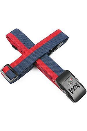MU-MOON TSA-Cross-Gürtel für Gepäck, 3-stelliges Zahlenschloss, verstellbar