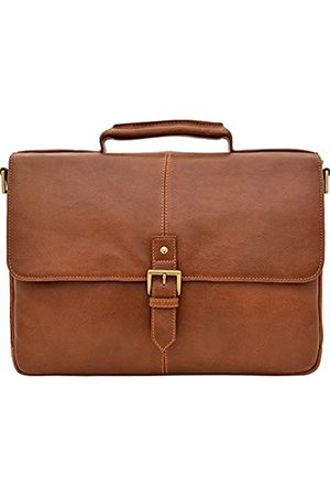 """Hidesign HIDESIGN Charles Leather 15"""" Laptop Compatible Briefcase Work Bag"""