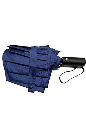 Unbekannt ShuLan Automatischer Klapp-Regenschirm, winddicht, 8 Rippen